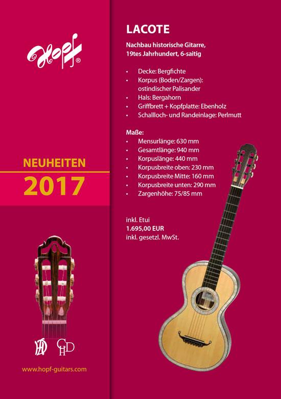 Lacote Gitarre